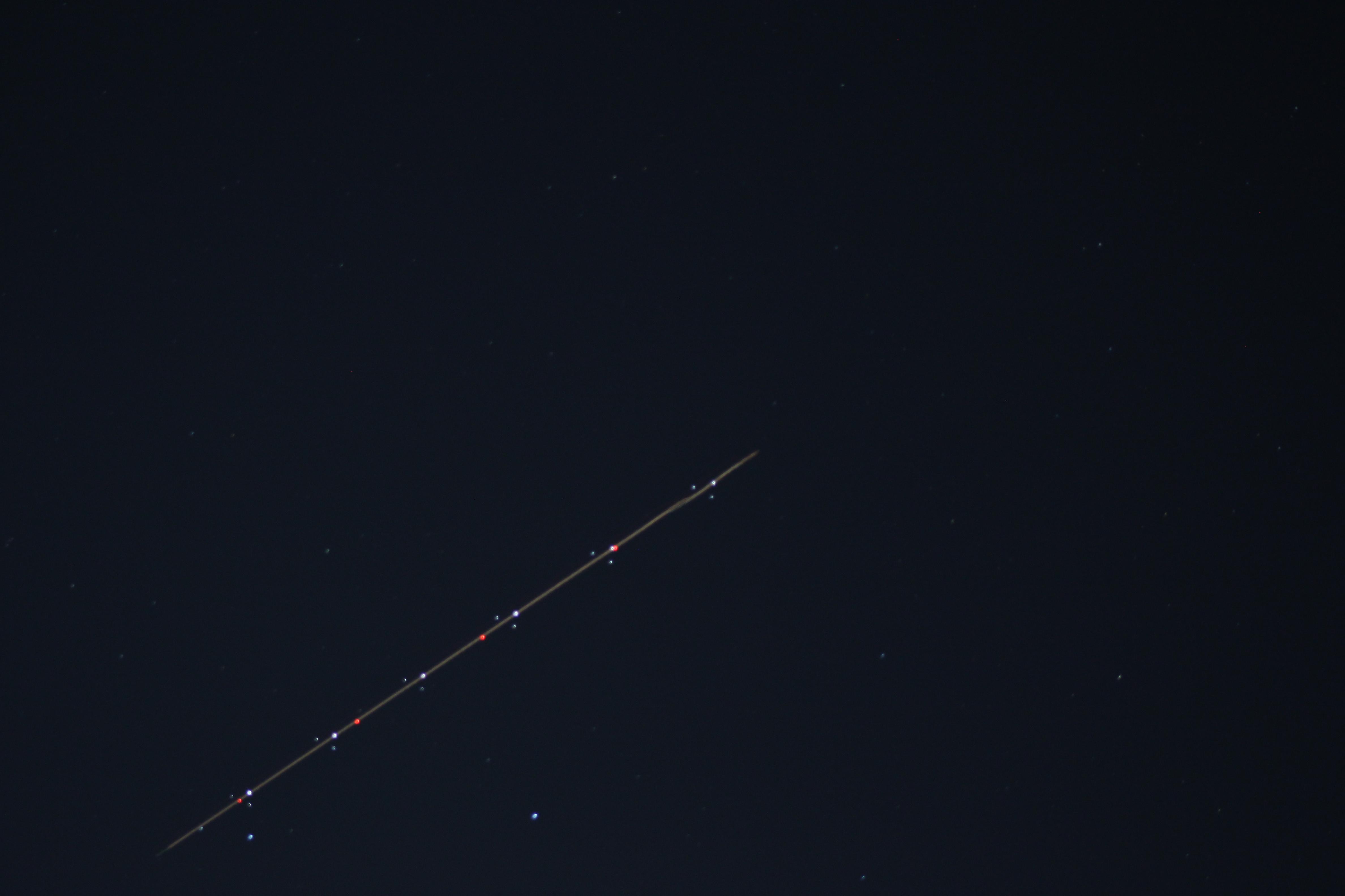 Avión nocturno